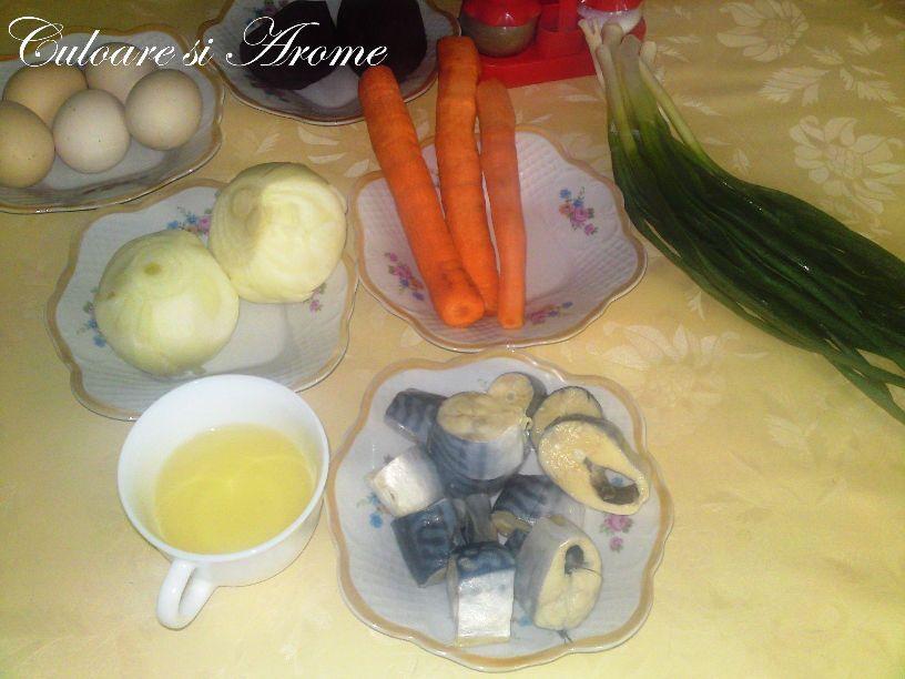 Salata de macrou cu legume 008