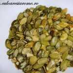 Sarmale cu seminte de dovleac si opintici