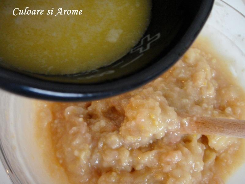 Prajitura din foi de napolitana cu crema de rahat si lamaie