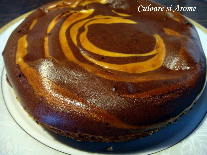 Cheesecake cu crema de branza