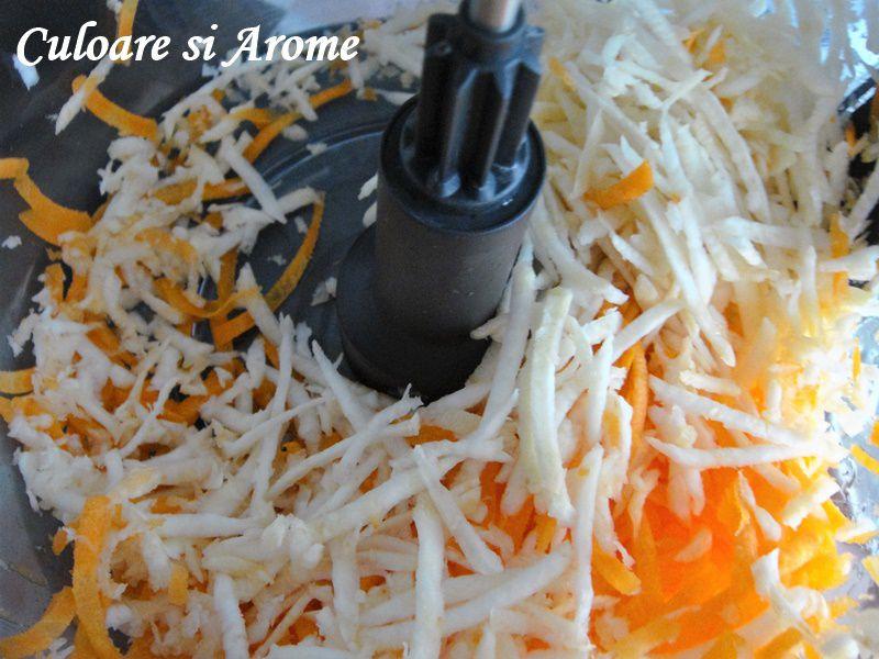 Rulouri de dovlecel umplute cu legume