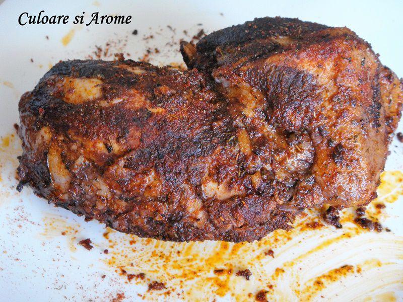 Pastrama de porc fiarta